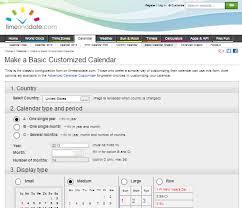 6 Free Online Calendar Makers