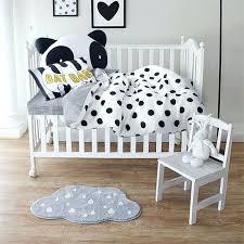 white toddler bedding set black and white toddler bed sheets