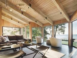 Sea Ranch Design A Historic Home In Sea Ranch Gets New Life Luxe Interiors