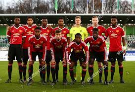 Manchester United team group during UEFA Youth Editorial Stock Photo -  Stock Image