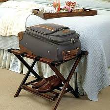 Luggage Racks For Guest Rooms Mesmerizing Luggage Rack For Guest Room Leather Luggage Rack Folding Luggage