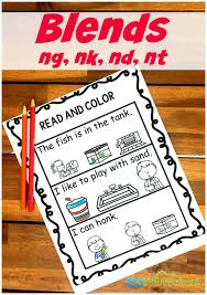 Phonics worksheets are a great way for young learners to practice phonics lessons. Free Read Color Ending Blends Worksheets