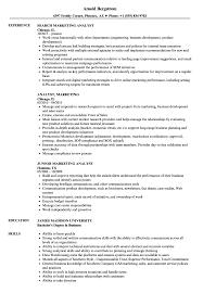 Marketing Analyst Job Description Analyst Marketing Resume Samples Velvet Jobs 6