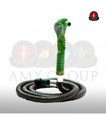 AMY water pipe hose Cobra - Green (Large) - Amy Deluxe