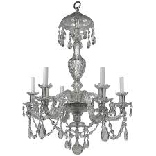 georgian style hand finished two tier cut crystal chandelier for at 1stdibs