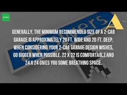 2 Car Garage Plans  Make Sure Your Two Car Garage Plans Are Big Size Of A 2 Car Garage