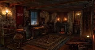 Medieval Bedroom Medieval Science Room By Gurgurdeviantartcom On Deviantart
