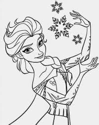 desenhos frozen para imprimir e pintar