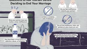 making the decision to end your marriage
