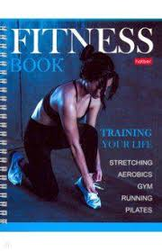 Купить <b>Дневник</b> для фитнеса, <b>А5</b>, <b>96</b> листов, гребень, глянцевая ...