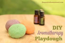 homemade playdough recipe you can make with essential oils