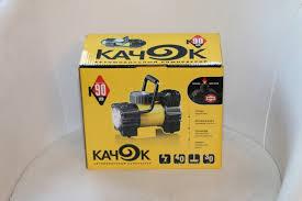 Обзор от покупателя на Автомобильный <b>компрессор КАЧОК K90</b> ...
