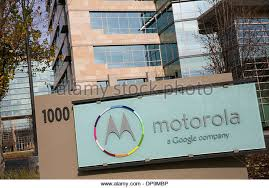 google office in america. an office building occupied by motorola a unit of google in sunnyvale california america