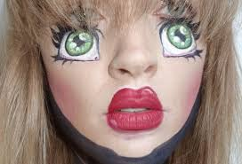 doll makeup tutorial