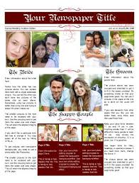 Newspaper Engagement Announcement Templates Wedding Announcement Newspaperswedding Announcement