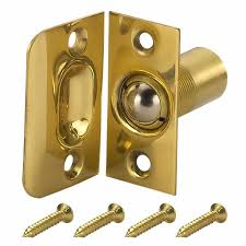 gatehouse polished brass adjule ball catch
