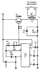transmitter and receiver closed loop tracer_circuit diagram world Greenlee Circuit Seeker closed loop tracer
