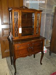 Hutch Display Cabinet Antique Dining Room Hutch Duggspace