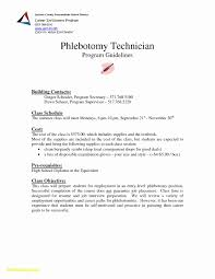 Phlebotomist Resume Sample Free Phlebotomist Resume Sample Free Creative 60 Phlebotomist Sample 2
