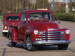 File:1953 Chevrolet 3100 Pick-Up, Dutch licence registration BE-50 ...