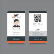 Free Id Badge Template Free Id Card Template Template Card Templates Id Card Template