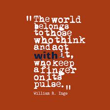 World Quotes Classy Picture William R Inge Quote About Action