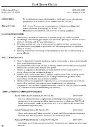 Business Resume Objective Nguonhangthoitrang Net