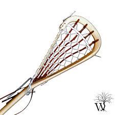 traditional lacrosse wooden field lacrosse stick