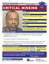 Find Missing Ronald Ford!   Missing persons, Cry for help, Amber alert