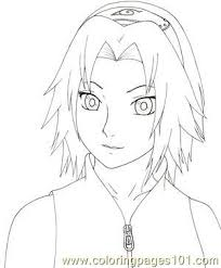 Small Picture Naruto Shippuden By Kaendd Coloring Page Free Sakura Coloring