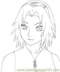 Small Picture Naruto Shippuden By Kaendd Coloring Page Free Sakura Coloring