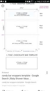 Free Candy Bar Wrapper Templates Printable Chocolate Template Misspentsonicyouth Com