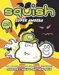 introducing squish a new graphic novel series about a ic book loving ie