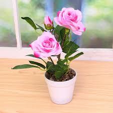 office pot plants. Home Decor Emulate Flower Bonsai Simulation Decorative Artificial Flowers Fake Green Pot Plants Decorations Office Ornaments