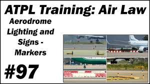 Aerodrome Lighting Atpl Training Air Law 97 Aerodrome Lighting And Signs Markers