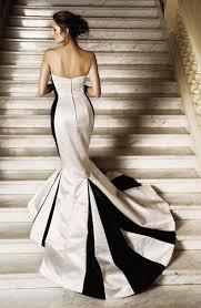elegant black and white wedding ten elegant black and white wedding dresses bestbride101