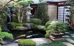 Zen Garden Design Plan Concept Impressive Decoration