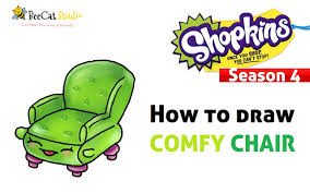 comfy chair drawing. Exellent Drawing How To Draw Shopkins Season 4  Comfy Chair To Drawing