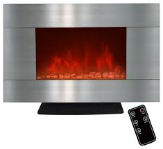 lights for inside fireplace electric wall floor fireplace with pebbles and led light