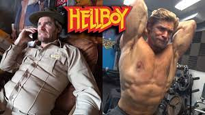 David Harbour's HELLBOY WORKOUT - YouTube
