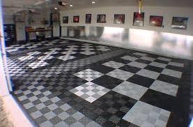 Garage Rubber Flooring Tiles Choice Image Modern Pattern Regarding