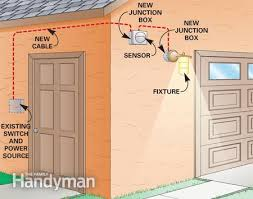 installing a remote motion detector for lighting d i y how to install a new security light at Security Lights For House Wiring Diagrams