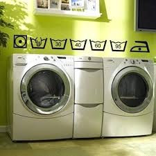 bathtub laundry vinyl wall decals laundry room bathroom rules bathtub wall stickers home decor toilet decal