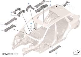 wiring harness covers cable ducts bmw x5 e70 x5 4 8i n62n usa wiring harness covers cable ducts