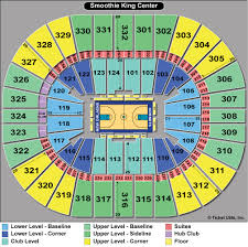 Smoothie King Arena Seating Chart New Orleans Pelicans Seating Chart Wajihome Co