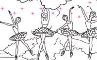 Printable Pink Shoes Coloring Page 2
