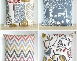 Scandinavian Pillow Cover, Blue Pillow Cover, Gold Pillow Sham, 10x10 Folk  Pillows,