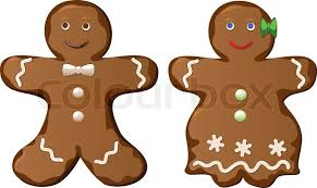 gingerbread man and woman. Fine And With Gingerbread Man And Woman I