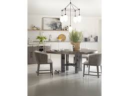 modern round dining room table. Hooker Furniture CurataLarge Modern Round Dining Table Room M
