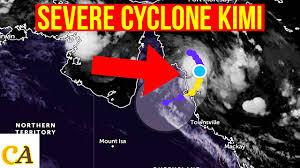 Severe cyclone kimi 2021 Update